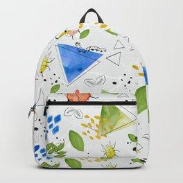 Watercolour creepy crawlies Backpack
