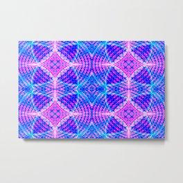 psychedelic lines Metal Print