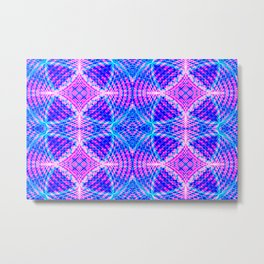 psychedelic lines Metal Print