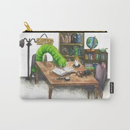 Little Worlds: The Library Carry-All Pouch