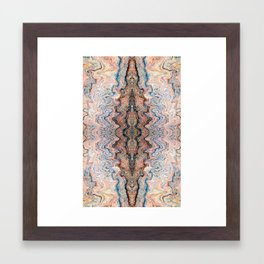 Copper Canyon Coordinate 4 Framed Art Print