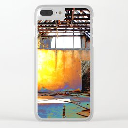Abandoned Church Clear iPhone Case