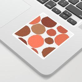 terracotta Sticker