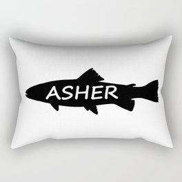 Asher Fish Rectangular Pillow