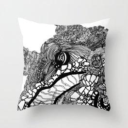 Whale #1 Throw Pillow