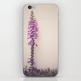 Foxglove iPhone Skin