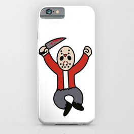 Excited Jason iPhone Case