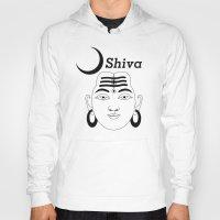 shiva Hoodies featuring SHIVA by Michael J. Chavez