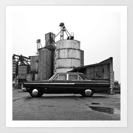 Industrial district Ford Art Print