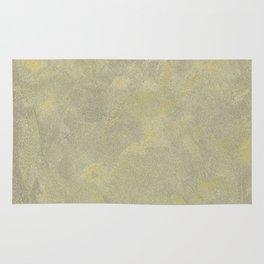 Modern Masters Metallic Plaster - Aged Gold and Silver Fox - Custom Glam Rug