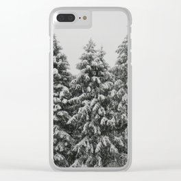 Tree Trio Clear iPhone Case
