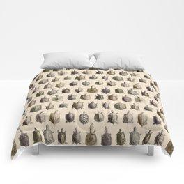 Vintage Turtles Pattern Comforters