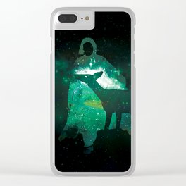 Snape and the Doe Clear iPhone Case