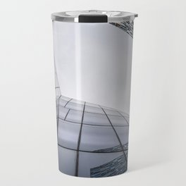 Modern architecture buildings in New York City Travel Mug