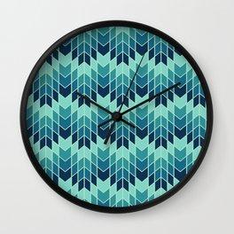 Jag Sea Mist Wall Clock