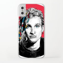 Mr Layne Staley Clear iPhone Case