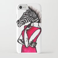striped iPhone & iPod Cases featuring Striped by Chetna Shetty