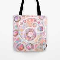 Abstract Geometric Tote Bag