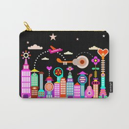 Fantastic City Under Starry Sky Carry-All Pouch