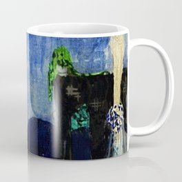Deserted Moment magical realism landscape painting by Kay Nielsen Coffee Mug