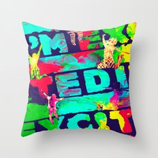 I'm Excited Throw Pillow