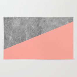 Simply Concrete Dogwood Pink Rug