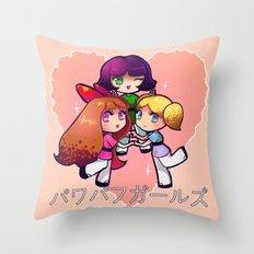 PowerPuff  Throw Pillow