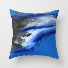 Snow Drift Throw Pillow