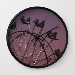 ferris wheel III Wall Clock