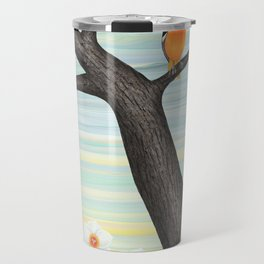 Orioles and daffodils Travel Mug