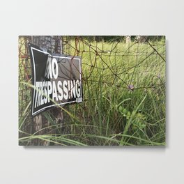Can Nature Truly Be Owned Metal Print
