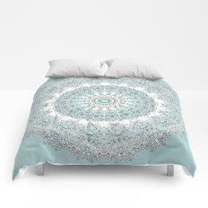 Mandala - Boho - Sacred Geometry - Pastels - Comforters