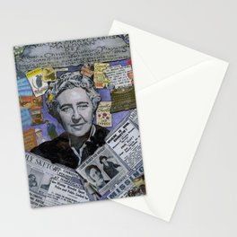 Agatha Christie's Disappearance Stationery Cards