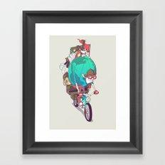 Mr. Traveler Framed Art Print