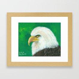 Strength (Eagle) Framed Art Print