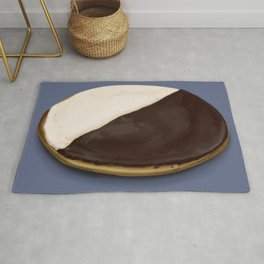 The Black & White Cookie Rug