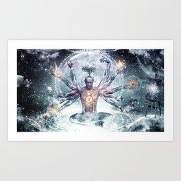 The Neverending Dreamer Art Print