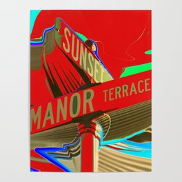 Sunset Manor Poster