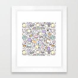Artsy Cats Framed Art Print