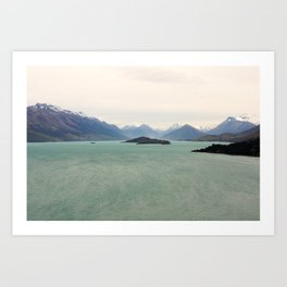 Bennetts Bluff Lookout, New Zealand Art Print