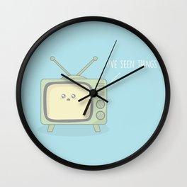 I've Seen Things #kawaii #television Wall Clock