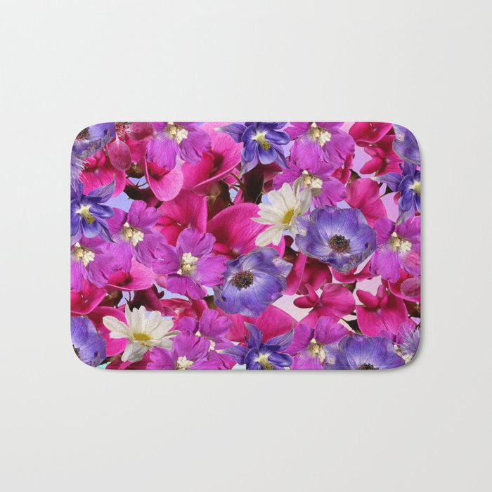 The Joy Of Spring Flowers Bath Mat