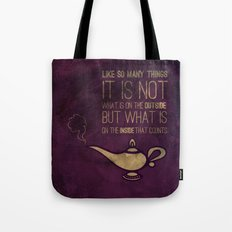 On the Inside Tote Bag