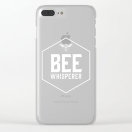 Bee Whisperer Clear iPhone Case