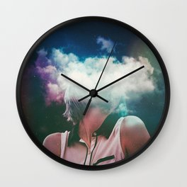 Distance On My Mind (The Clouded Diaries) Wall Clock