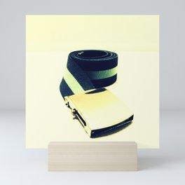 Retro Belt Mini Art Print