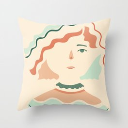 Inspired by Sophia Throw Pillow