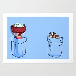 a little of Gravity Falls Art Print