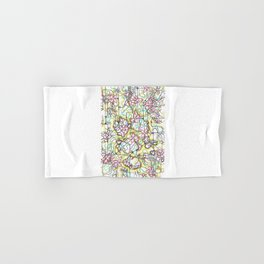 Three Leaves on the Cherry Blossom Hand & Bath Towel