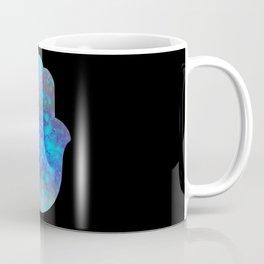 Watercolor Splatter Hamsa Hand Coffee Mug